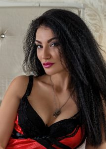 Mila black Ukraine woman